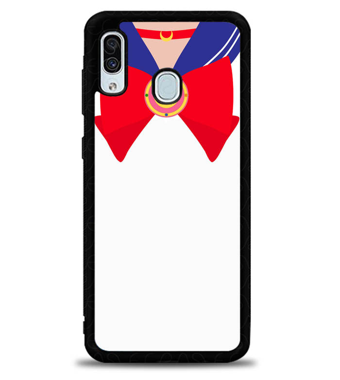 Sailor Moon Brooch and Bow X4822 Samsung Galaxy A20 Case