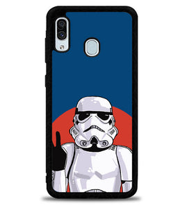 Star Wars Peace Stormtroopers X4866 Samsung Galaxy A20 Case
