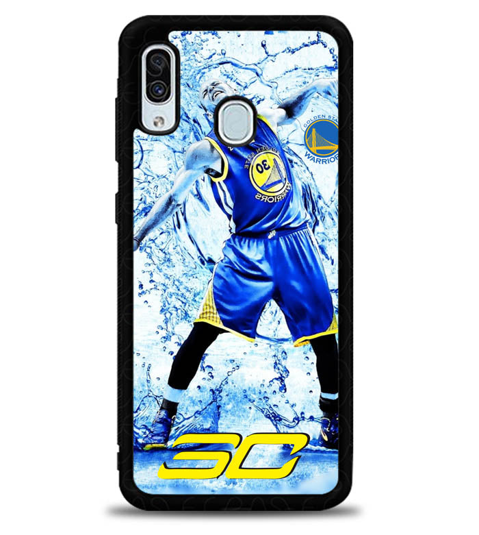 Stephen Curry Water X4992 Samsung Galaxy A20 Case