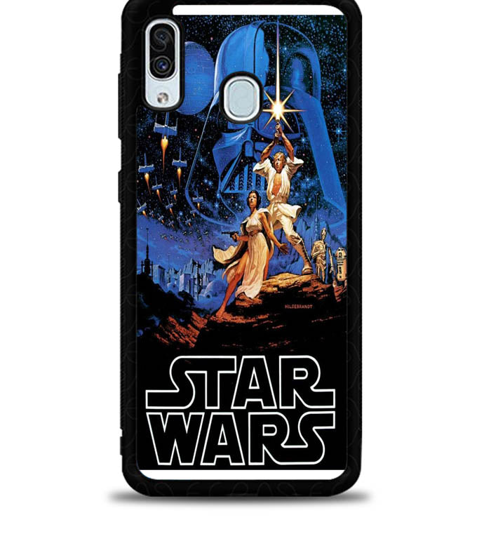star wars X4944 Samsung Galaxy A20 Case