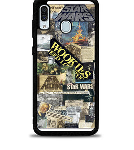 Star Wars Collage X4955 Samsung Galaxy A20 Case