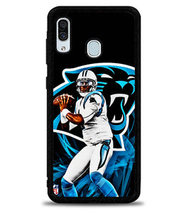Cam Newton Panthers X4912 Samsung Galaxy A20 Case