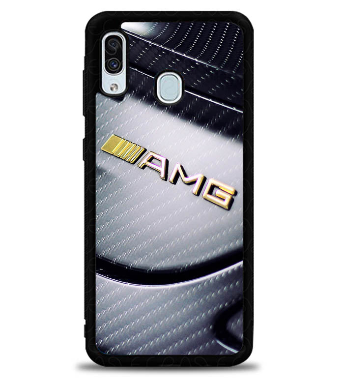 Mercedes AMG Gold X5037 Samsung Galaxy A20 Case