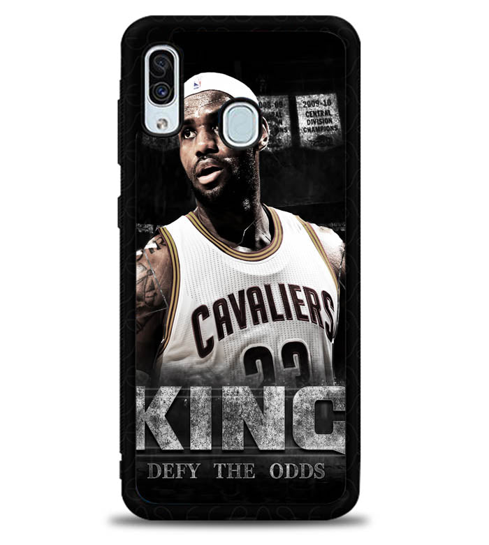 King LeBron James X5048 Samsung Galaxy A20 Case