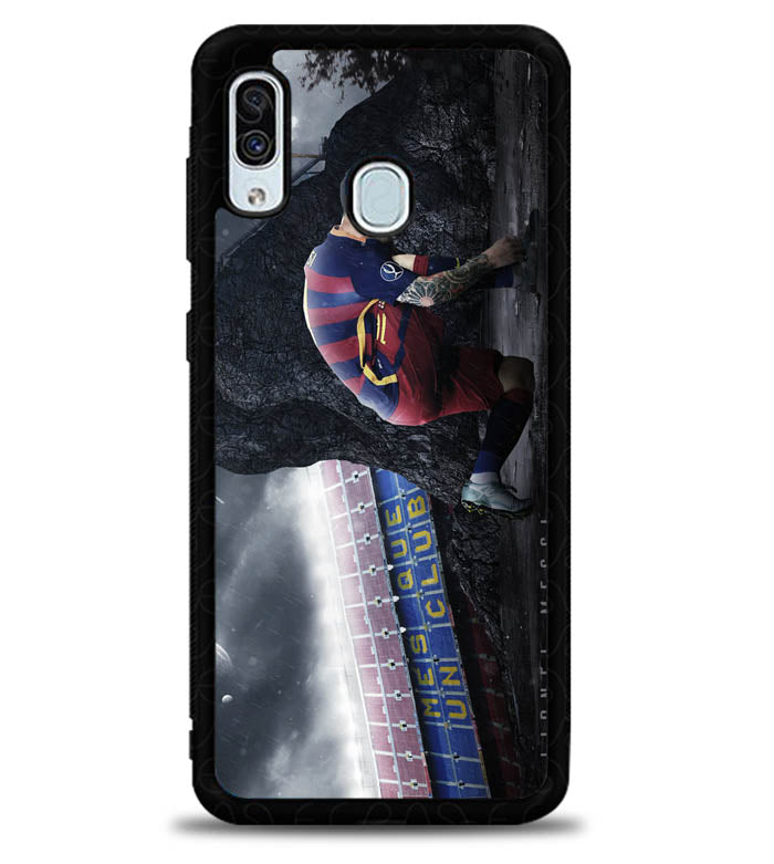 Lionel Messi X5082 Samsung Galaxy A20 Case