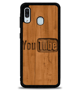 YouTube Intro Video X5076 Samsung Galaxy A20 Case