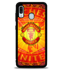 Manchester United The Red Devils X5637 Samsung Galaxy A20 Case