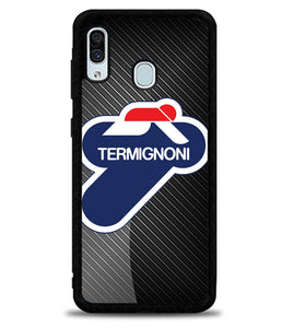 Termignoni Exhaust Carbon X5656 Samsung Galaxy A20 Case