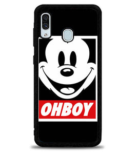 Mickey Mouse X5671 Samsung Galaxy A20 Case