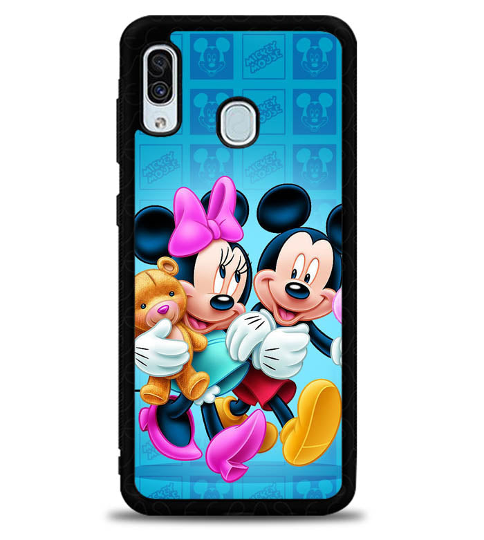 Mickey Mouse X5816 Samsung Galaxy A20 Case
