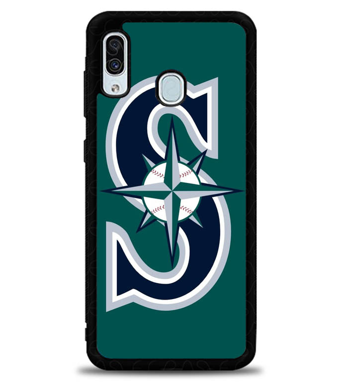 Seattle Mariners X5894 Samsung Galaxy A20 Case