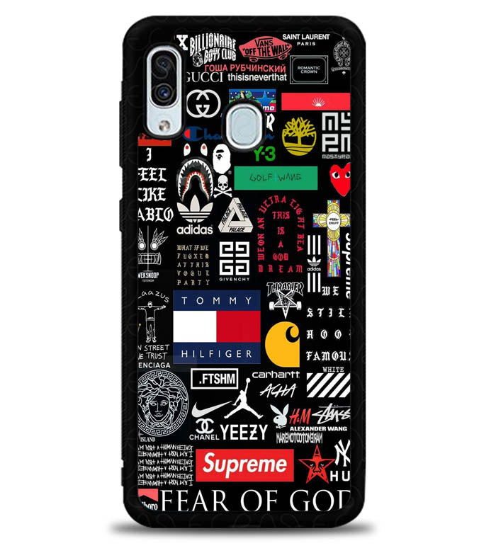 Apple Odd Future Sticker X5978 Samsung Galaxy A20 Case