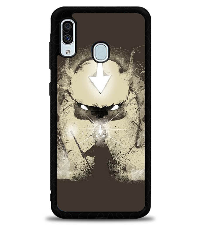 Aang and Appa X6060 Samsung Galaxy A20 Case