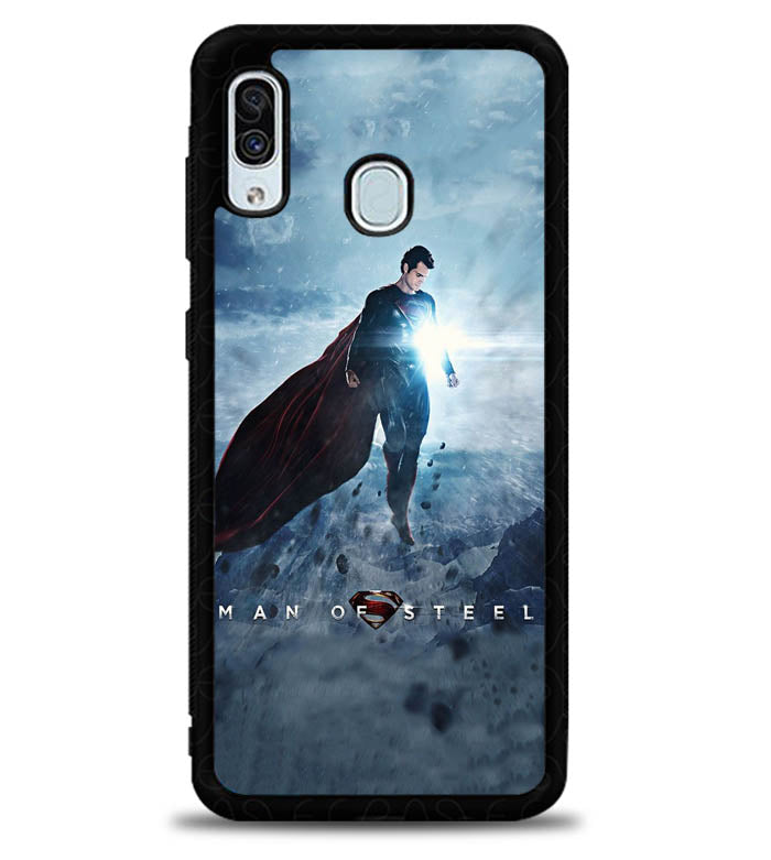 Man of Steel X6065 Samsung Galaxy A20 Case