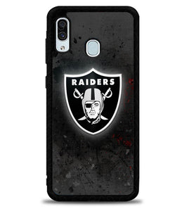 Oakland Raiders Black X6219 Samsung Galaxy A20 Case