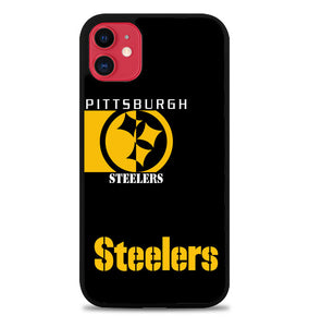Pittsburgh Steeler Black X6240 iPhone 11 Pro Max Case