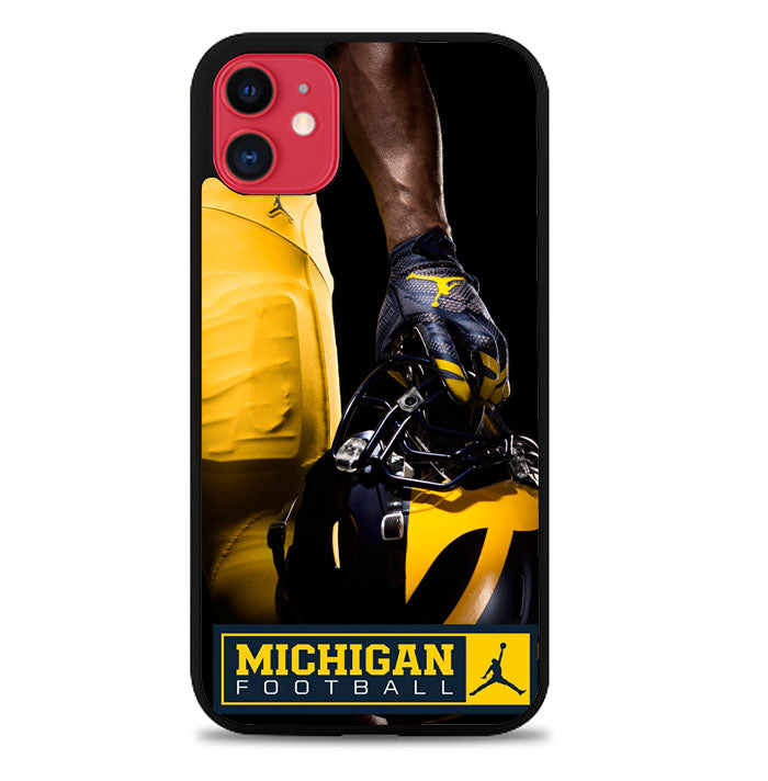 Michigan Football Uniform X8065 iPhone 11 Pro Max Case