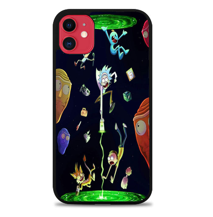 Rick And Morty Wallpaper X8921 iPhone 11 Pro Max Case