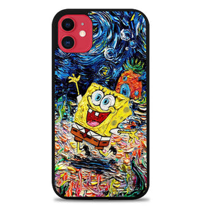 Spongebob Squarepants Art X9011 iPhone 11 Pro Max Case