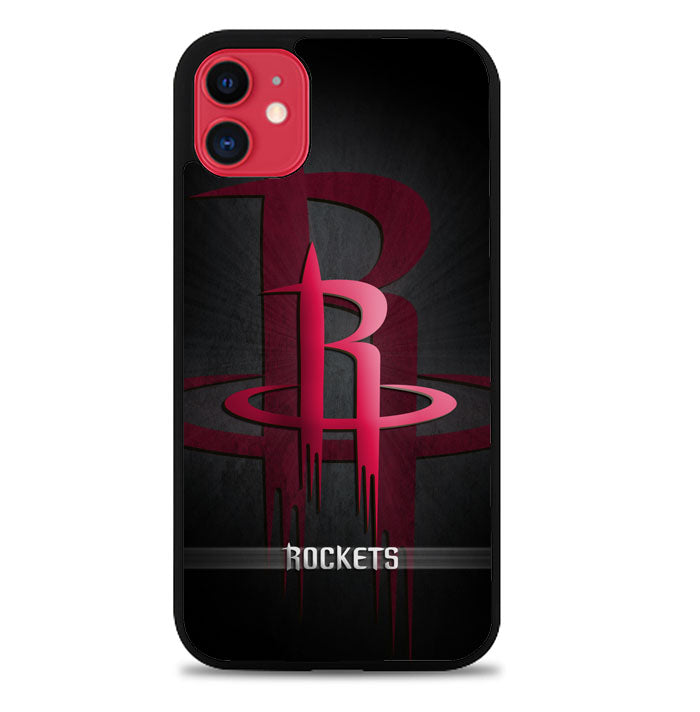 Black Houston Rockets X9065 iPhone 11 Pro Max Case