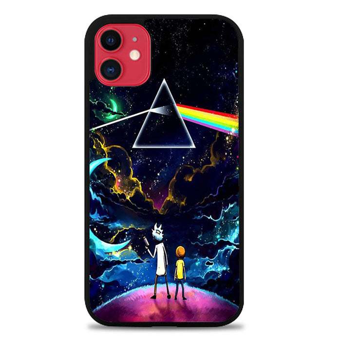 rick and morty pink floyd X9165 iPhone 11 Pro Max Case