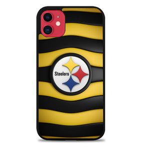 pittsburgh steelers logo X9282 iPhone 11 Pro Max Case
