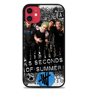 5 seconds of summer L0409 iPhone 11 Pro Max Case