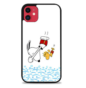 Snoopy Funny Swimming L0435 iPhone 11 Pro Max Case