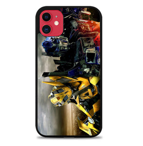 transformers bumblebee optimus L0631a iPhone 11 Pro Max Case