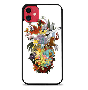 Pokemon All Stars L1474 iPhone 11 Pro Max Case