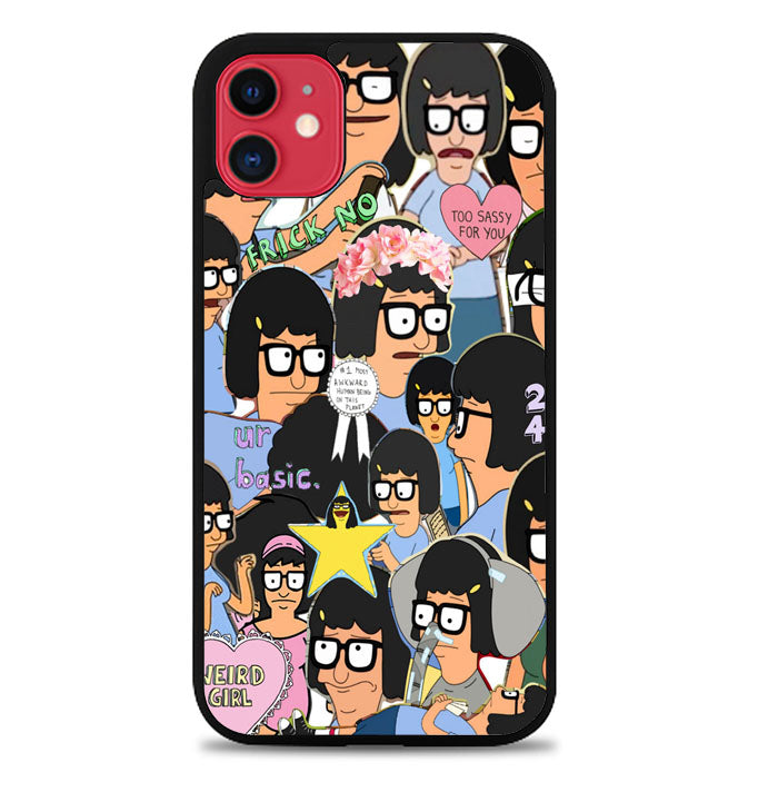 Tina Belcher Collage Bob's Burgers L1494 iPhone 11 Pro Max Case