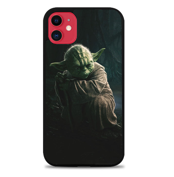Star Wars Yoda Jedi L1802 iPhone 11 Pro Max Case