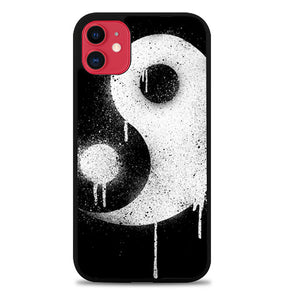 Yin Yang Spray Paint L2217 iPhone 11 Pro Max Case