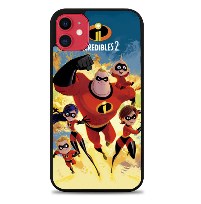 The Incredibles 2 Disney L2664 iPhone 11 Pro Max Case