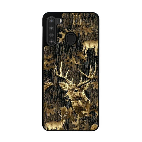 Deer Hunting Camo L2807 Samsung Galaxy A21 Case