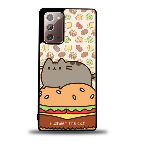 pusheen cat W8696 Samsung Galaxy Note 20 5G Case
