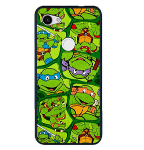 Teenage Mutant Ninja Turtles Collage Z1415 Google Pixel 3A Cover Cases