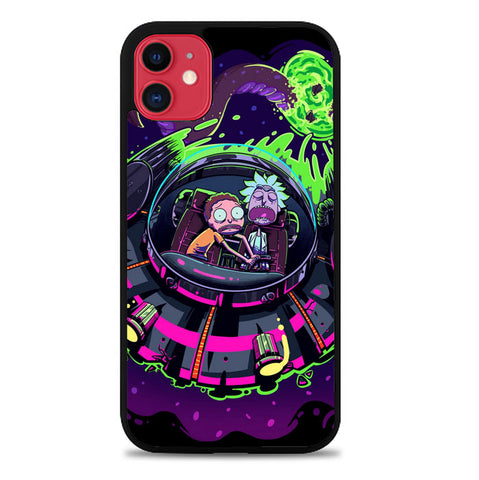 rick and morty Z4121 iPhone 11 Cover Cases