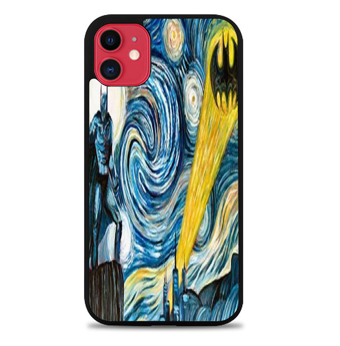 Batman invades Van Goghs iPhone 11 Pro Max Case