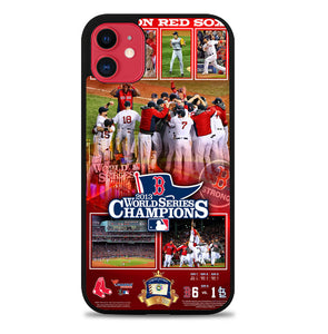 Boston Red Sox Memories world series iPhone 11 Pro Max Case