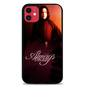 Severus snape always in our hearts iPhone 11 Pro Max Case