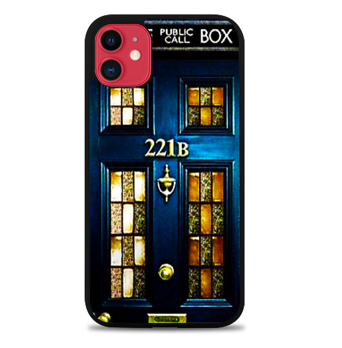 tardis sher holmes iPhone 11 Pro Max Case