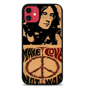 John Lennon Peace and Love iPhone 11 Pro Max Case