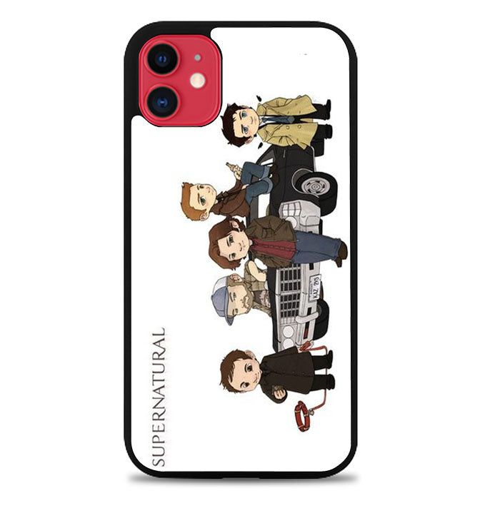 Supernatural Characters iPhone 11 Pro Max Case