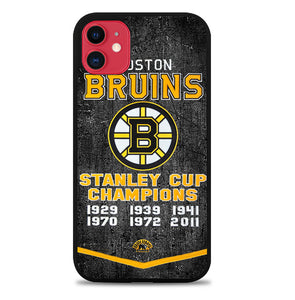 Boston Bruins Grunge Hockey2 iPhone 11 Pro Max Case