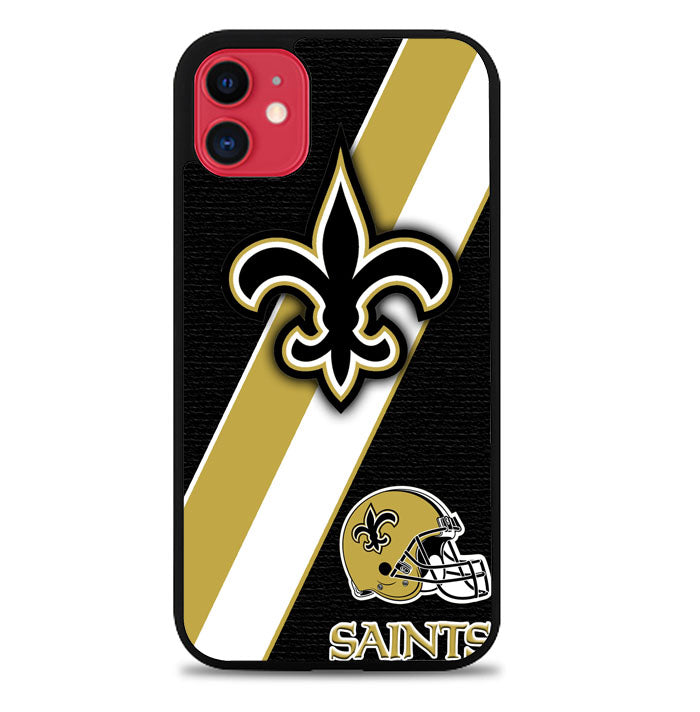 New Orleans Saints Black Old Gold A0098 iPhone 11 Pro Max Case