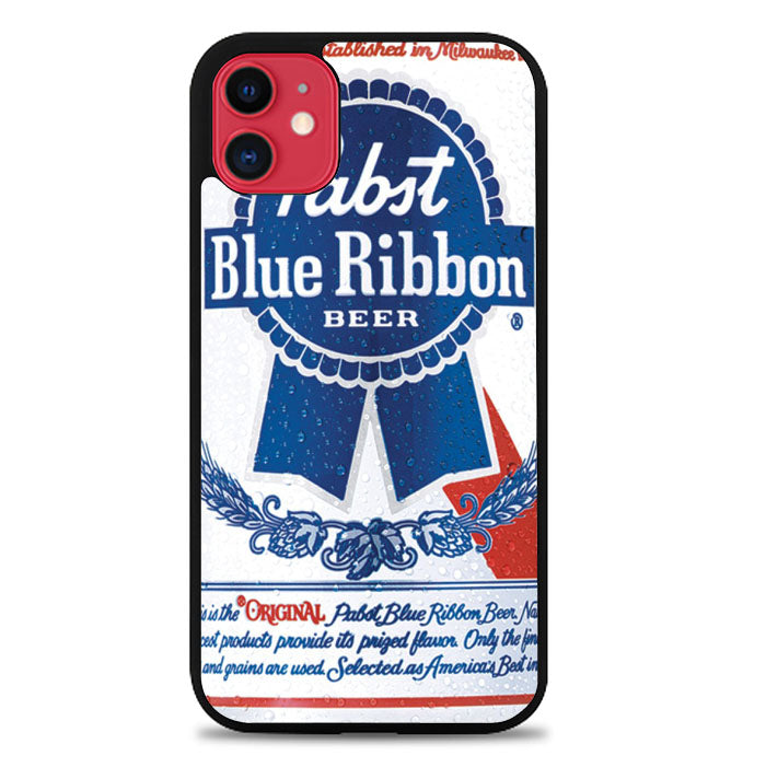 PABST BLUE RIBBON BEER CAN A0083 iPhone 11 Pro Max Case