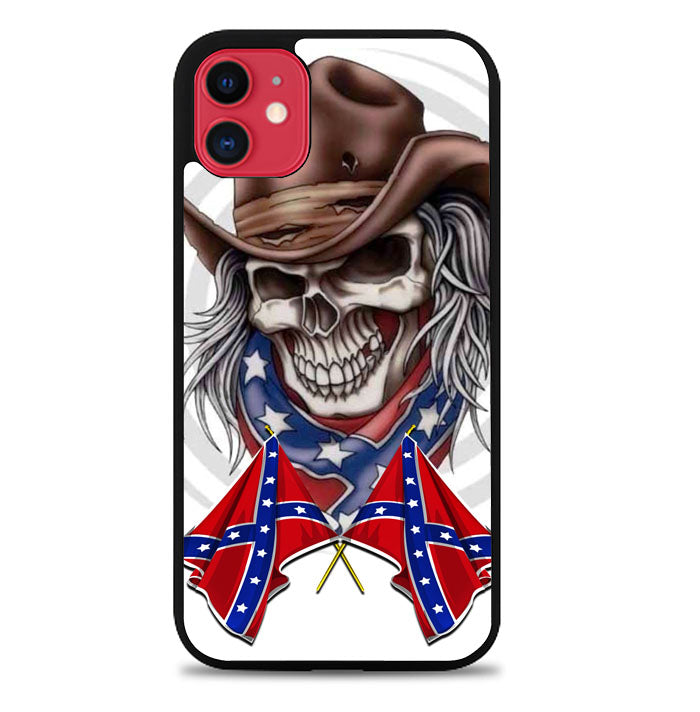 Rebel skull cowboy A0067 iPhone 11 Pro Max Case