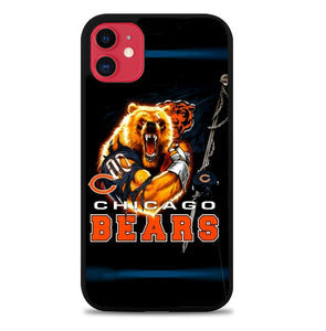 Rare Chicago Bears NFL Team Bear Mascot A0057 iPhone 11 Pro Max Case