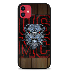USMC The Marine Corps Bulldog A0021 iPhone 11 Pro Max Case